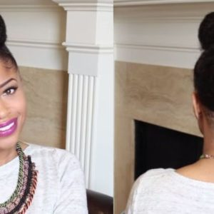 The Chic Natural hair Tutorial - Bellanaija - September 2014002
