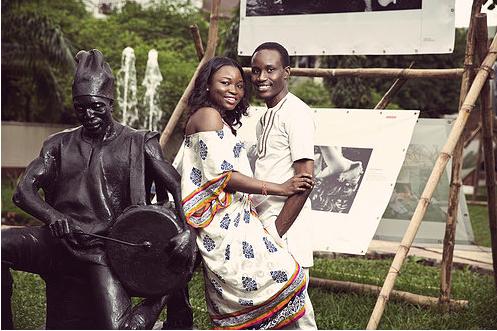 Tolu ogunlesi kemi agboola pre wedding shoot potterclay