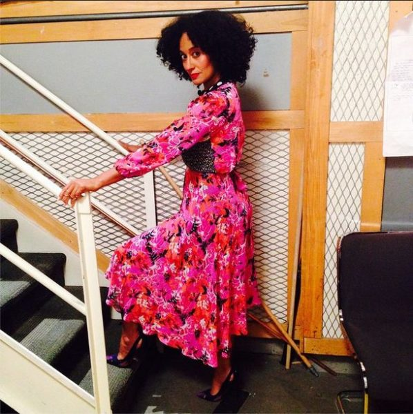 Tracee Ellis Ross in Duro Olowu - bellanaija - September 2014