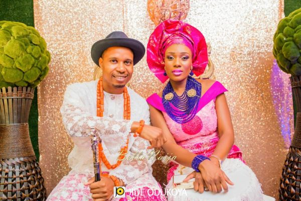Veno & Timi | Lagos Nigerian Wedding - Edo & Yoruba | Jide Odukoya | BellaNaija 032.Veno-and-Timi-Tradf1-10017