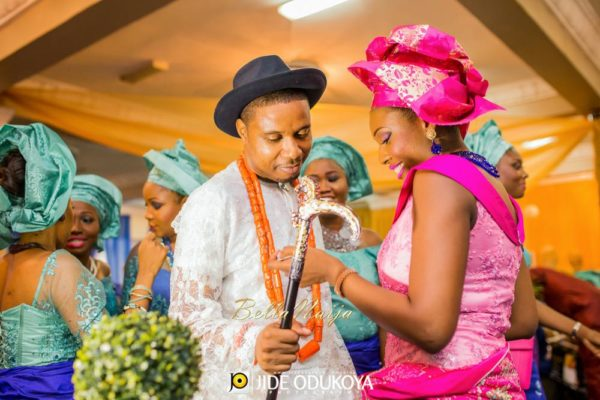 Veno & Timi | Lagos Nigerian Wedding - Edo & Yoruba | Jide Odukoya | BellaNaija 041.Veno-and-Timi-Tradg-10012