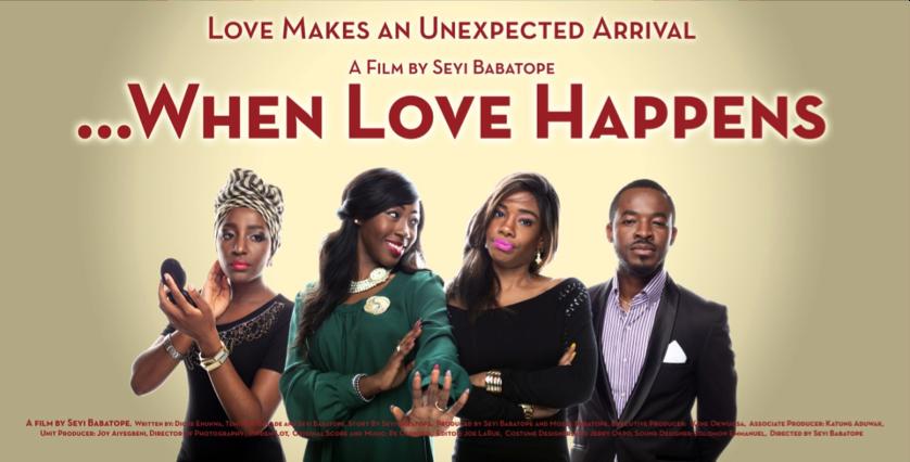 What happens when love makes an unexpected arrival when love happens