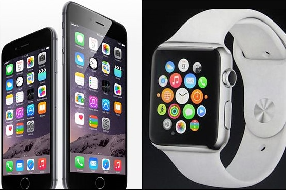 iphone 6 Watch and phone
