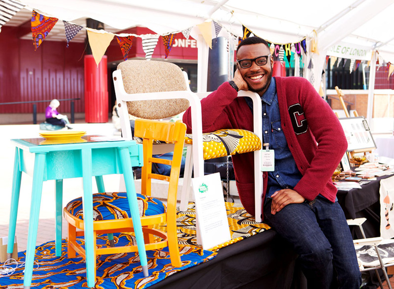 Aina fadina chats with furniture designer yinka ilori on for African american furniture designers