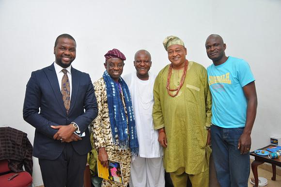 Adebola Williams, Tunde Kelani, Toyin Oshinaike, Jide Kosoko
