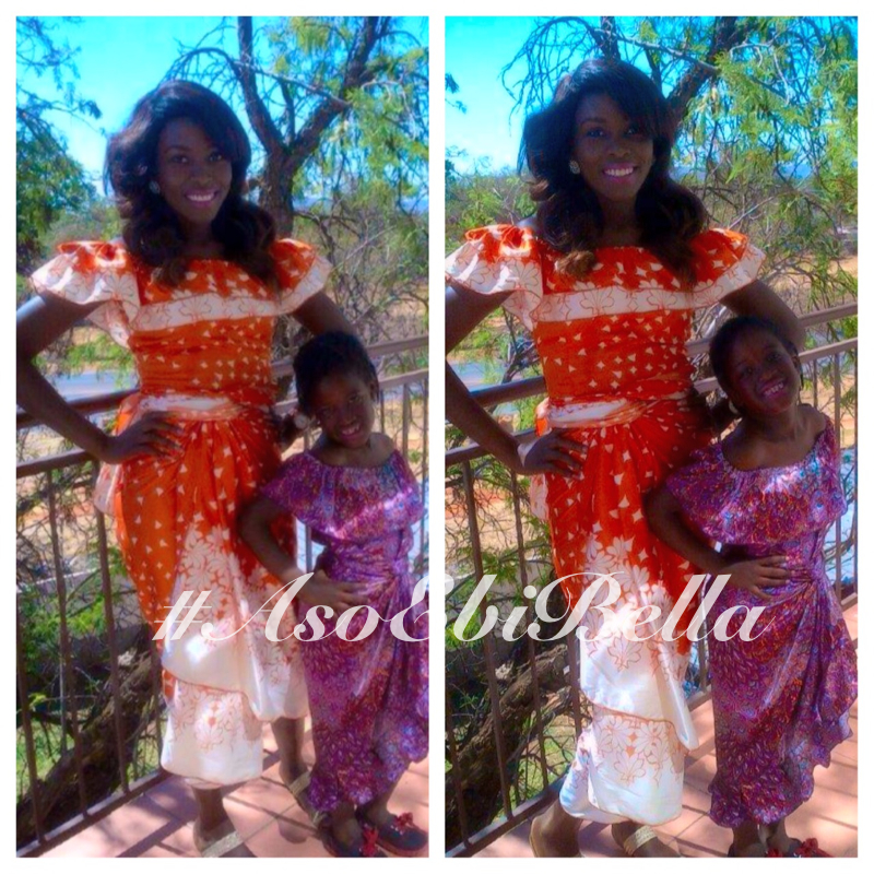 Adenike and her friend's daughter