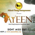 Africa's Young Entrepreneurs Empowerment Nigeria 2014 - Bellanaija - October 2014