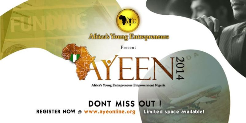 Africa's Young Entrepreneurs Empowerment Nigeria 2014 - Bellanaija - October 2014