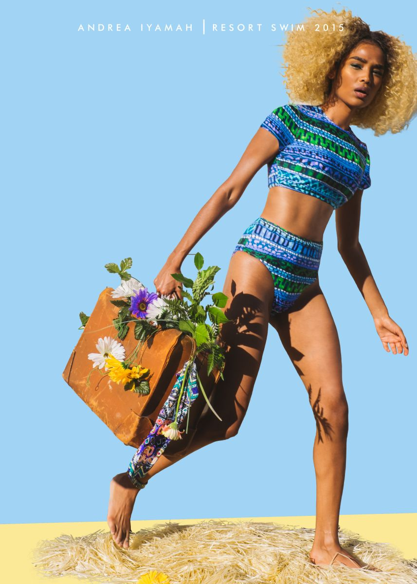 Andrea Iyamah Resort Swim 2015 Collection Campaign - Bellanaija - October2014008