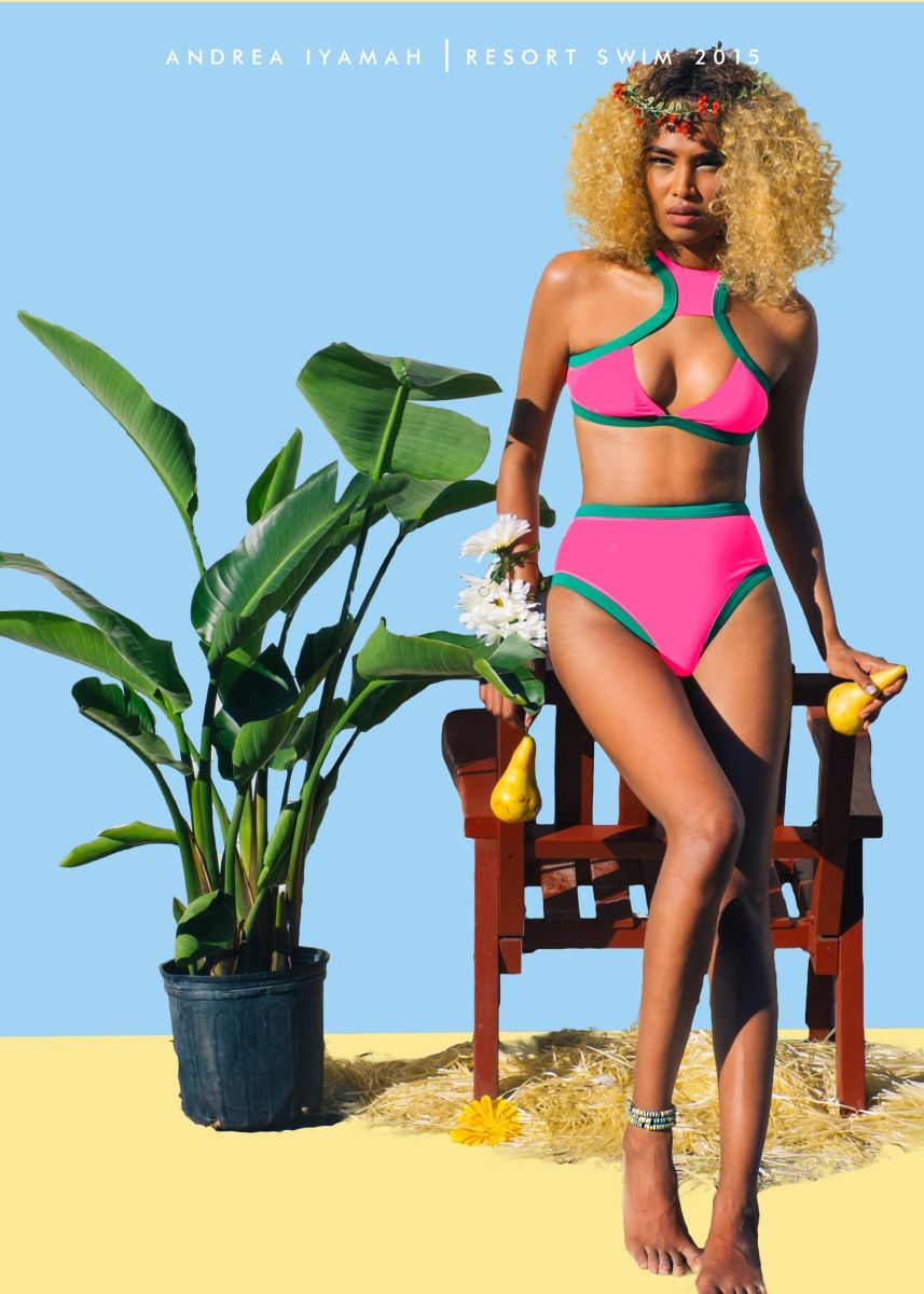 Andrea Iyamah Resort Swim 2015 Collection Campaign - Bellanaija - October2014011