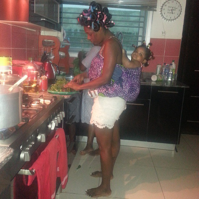 Annie Idibia Home BellaNaija