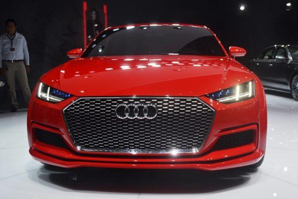 Audi TT Sportback 1
