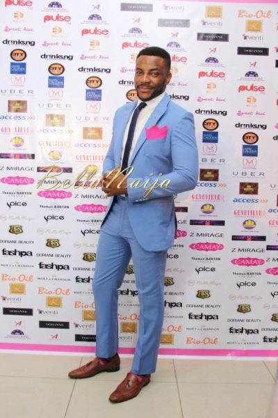 BN Best Dressed Genevieve Pink Ball 2014 October2014-BellaNaija001