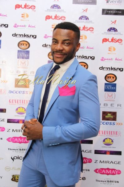 BN Best Dressed Genevieve Pink Ball 2014 October2014-BellaNaija002