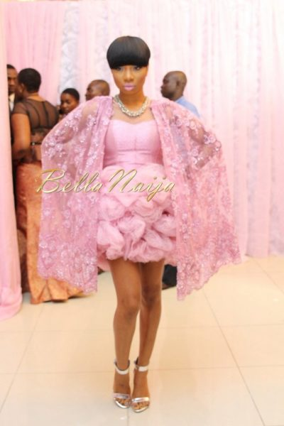 BN Best Dressed Genevieve Pink Ball 2014 October2014-BellaNaija006