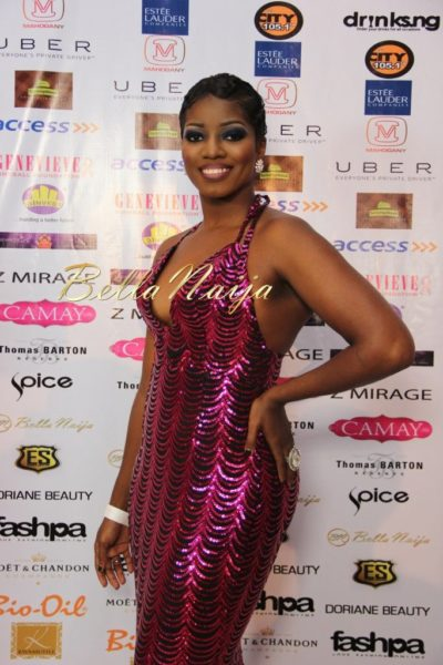 BN Best Dressed Genevieve Pink Ball 2014 October2014-BellaNaija011