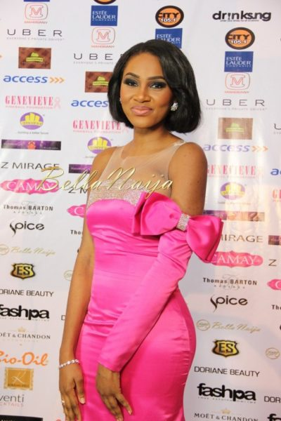 BN Best Dressed Genevieve Pink Ball 2014 October2014-BellaNaija015
