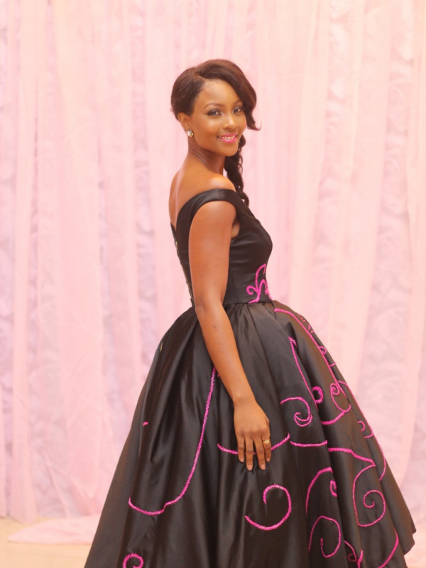 BN Best Dressed Genevieve Pink Ball 2014 October2014-BellaNaija020