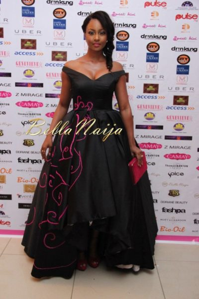 BN Best Dressed Genevieve Pink Ball 2014 October2014-BellaNaija021