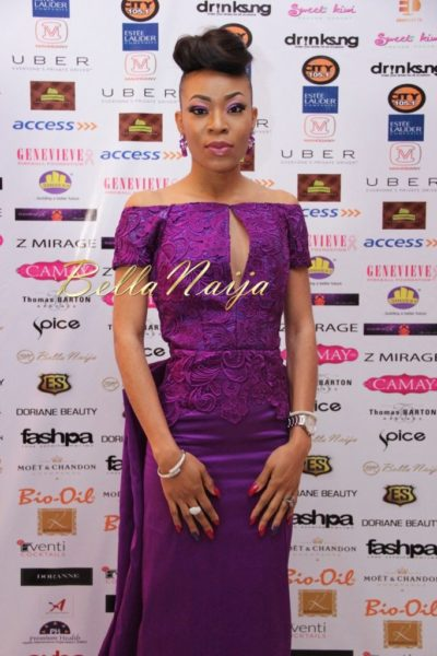 BN Best Dressed Genevieve Pink Ball 2014 October2014-BellaNaija023
