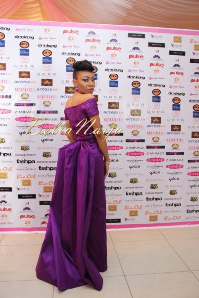 BN Best Dressed Genevieve Pink Ball 2014 October2014-BellaNaija024