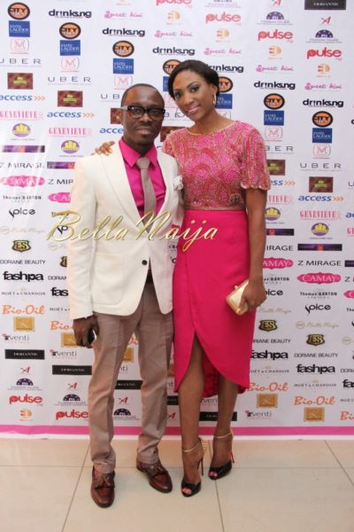 BN Best Dressed Genevieve Pink Ball 2014 October2014-BellaNaija025
