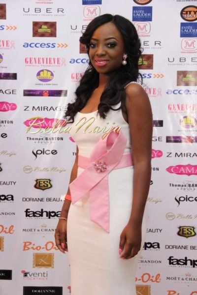 BN Best Dressed Genevieve Pink Ball 2014 October2014-BellaNaija026