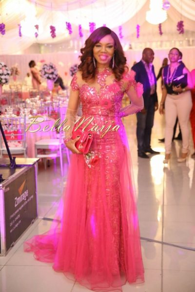 BN Best Dressed Genevieve Pink Ball 2014 October2014-BellaNaija028