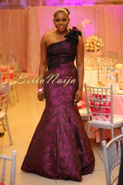 BN Best Dressed Genevieve Pink Ball 2014 October2014-BellaNaija033