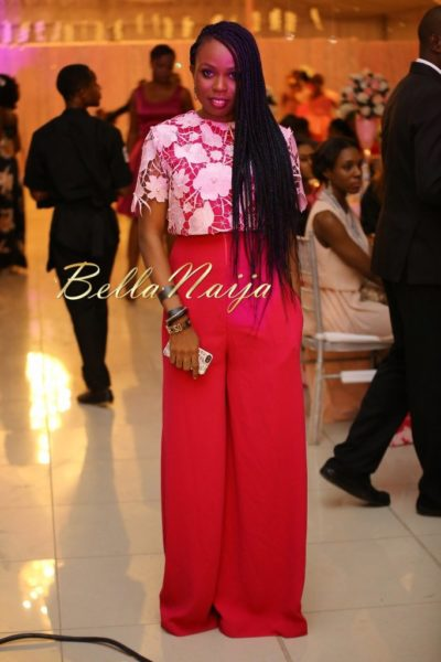 BN Best Dressed Genevieve Pink Ball 2014 October2014-BellaNaija034