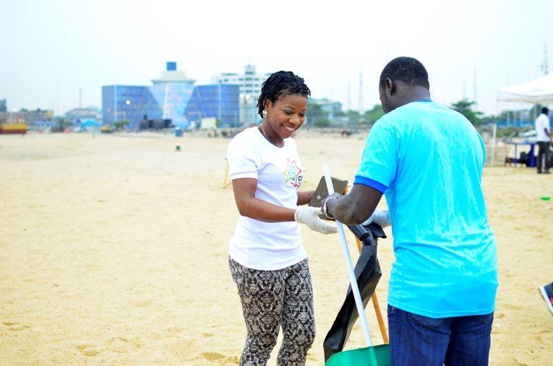 COPA Lagos Clean the Beach Day Out - Bellanaija - October2014015