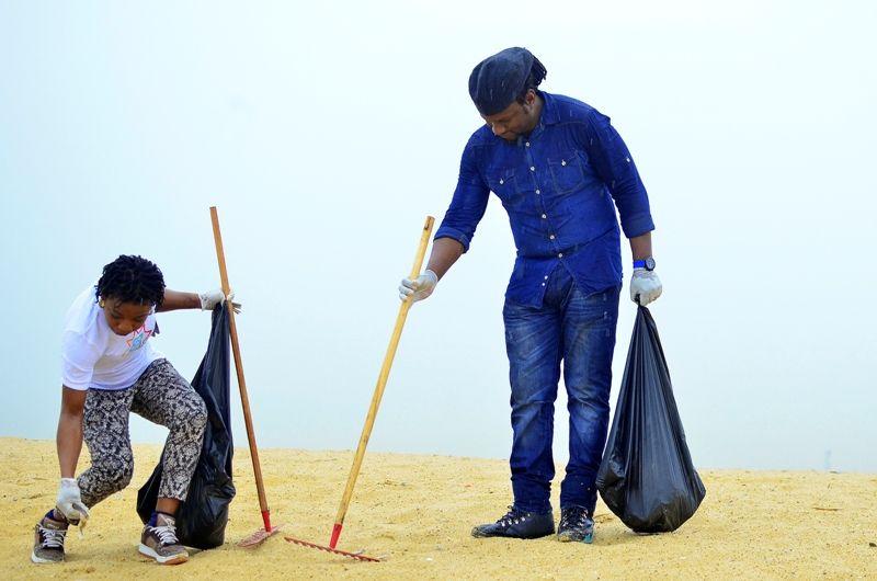 COPA Lagos Clean the Beach Day Out - Bellanaija - October2014023