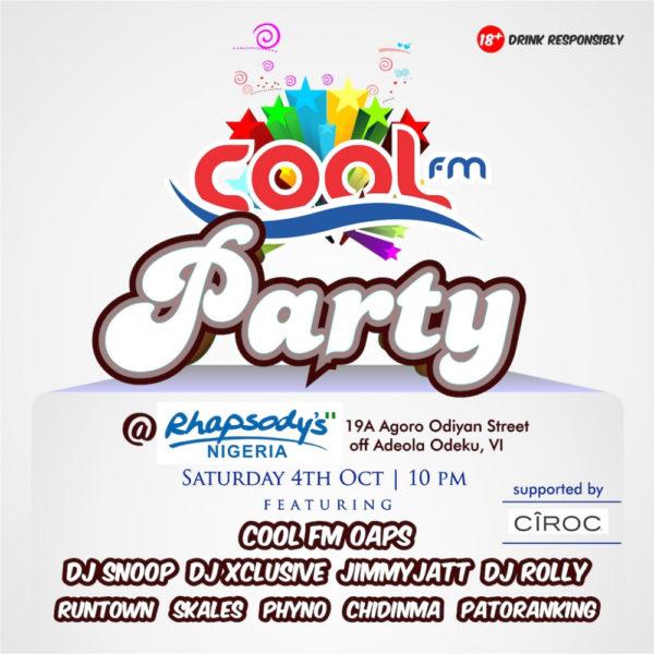 Cool FM Party BellaNaija