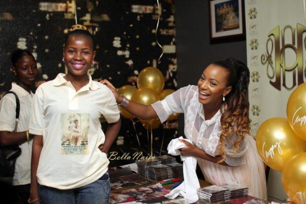 DJ Cuppy - Autograph Signing Lagos 2014 - BellaNaija 018