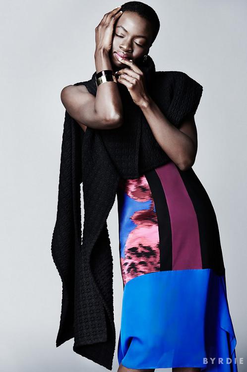 Danai Gurira for Byrdie Magazine - bellanaija - October 2014004