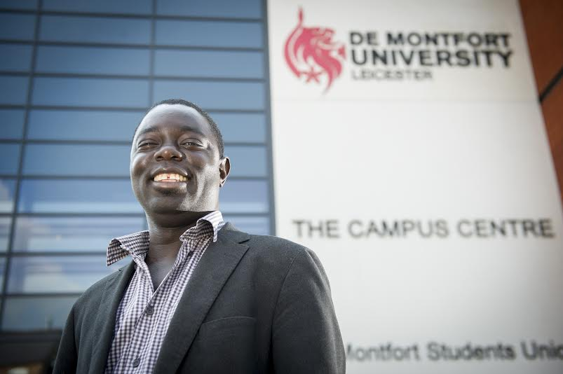Momodou Sallah who has been named a National Teaching Fellow