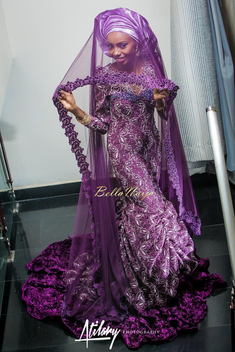 Farida Salisu Yusha'u & Abubakar Sani Aminu | Budan Kai - Hausa Muslim Nigerian Wedding | Atilary Photography | BellaNaija - October 2014 003.862C8414