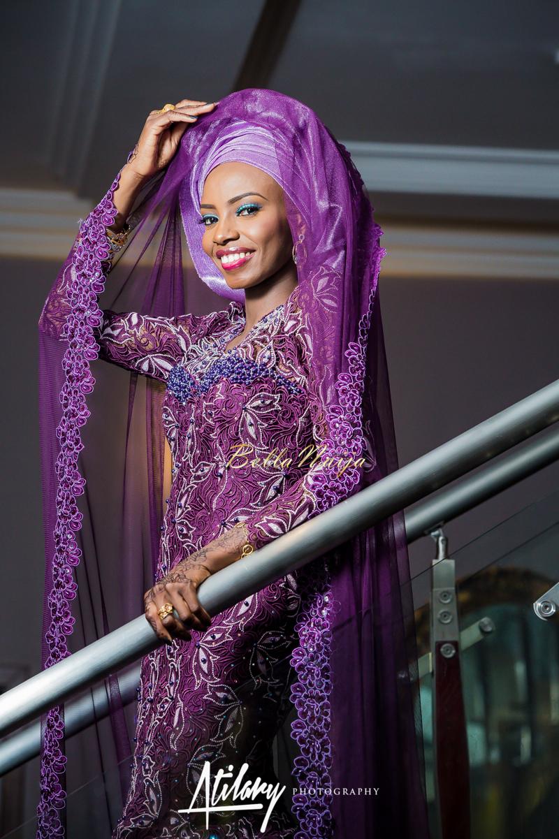 Farida Salisu Yusha'u & Abubakar Sani Aminu | Budan Kai - Hausa Muslim Nigerian Wedding | Atilary Photography | BellaNaija - October 2014 004.862C8423