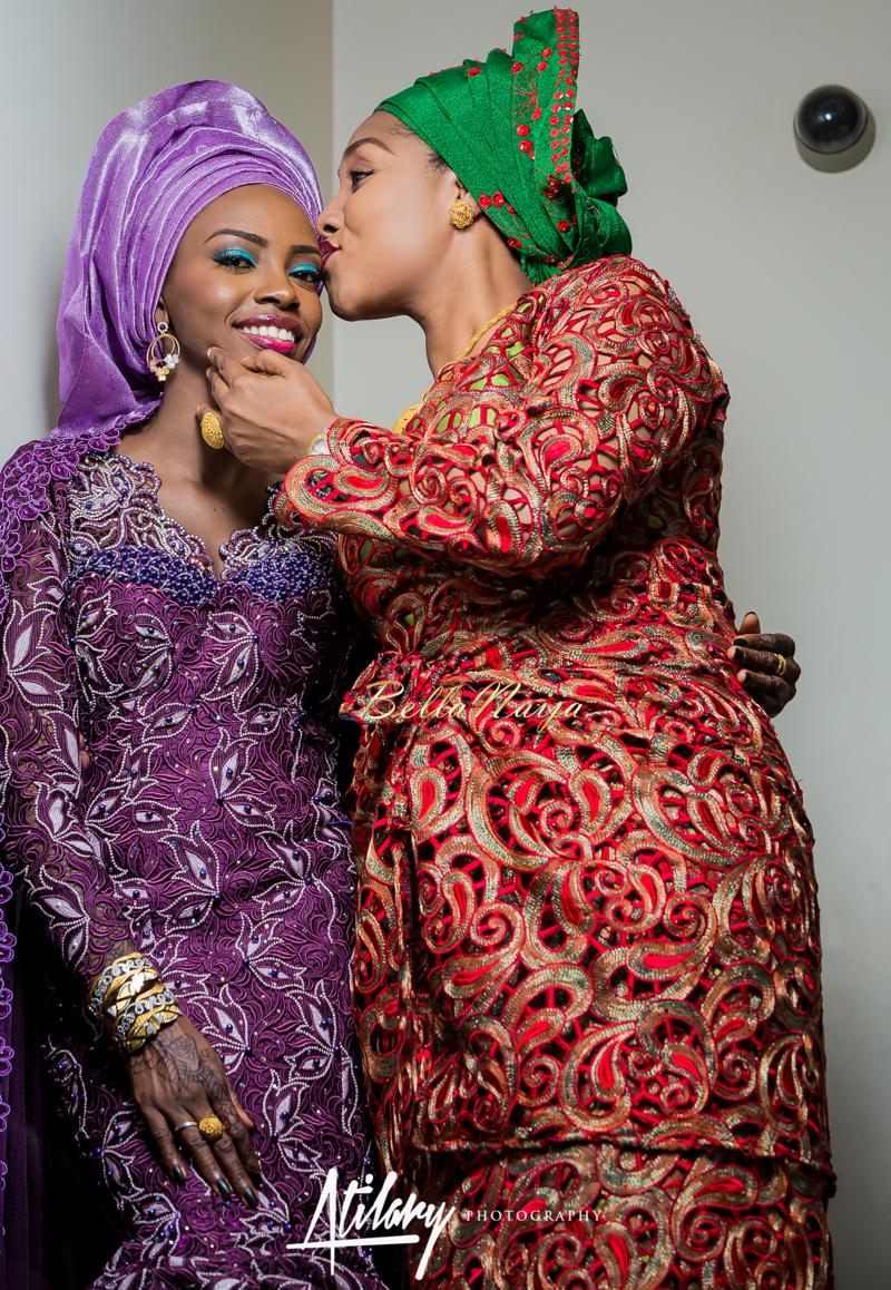 Farida Salisu Yusha'u & Abubakar Sani Aminu | Budan Kai - Hausa Muslim Nigerian Wedding | Atilary Photography | BellaNaija - October 2014 005.862C8444
