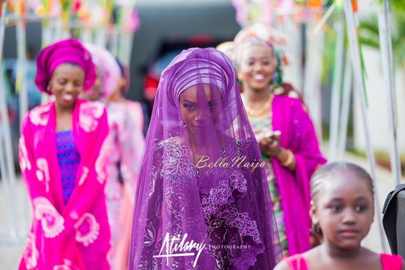 Farida Salisu Yusha'u & Abubakar Sani Aminu | Budan Kai - Hausa Muslim Nigerian Wedding | Atilary Photography | BellaNaija - October 2014 005.862C8568