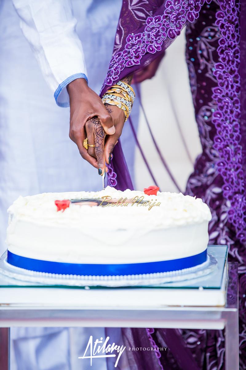 Farida Salisu Yusha'u & Abubakar Sani Aminu | Budan Kai - Hausa Muslim Nigerian Wedding | Atilary Photography | BellaNaija - October 2014 010.862C8675
