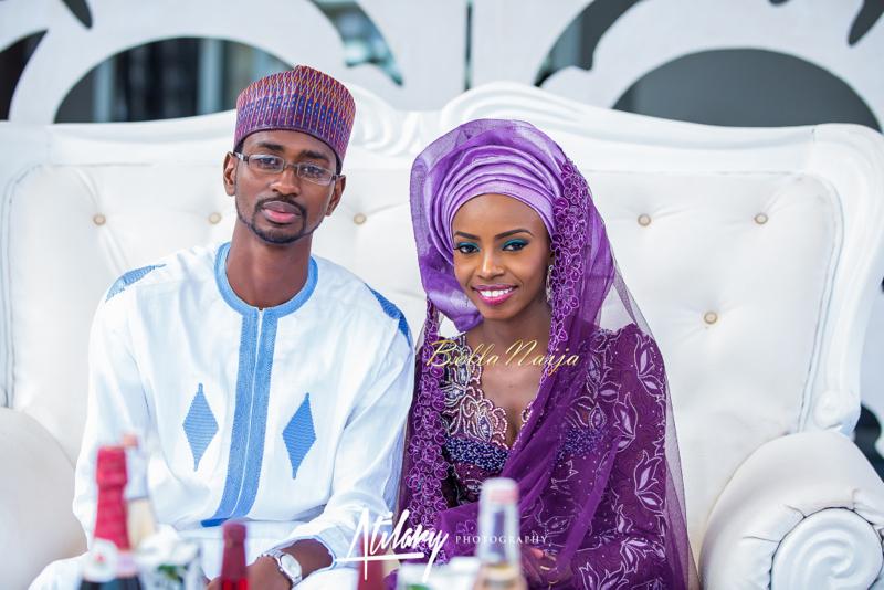 Farida Salisu Yusha'u & Abubakar Sani Aminu | Budan Kai - Hausa Muslim Nigerian Wedding | Atilary Photography | BellaNaija - October 2014 012.862C8652