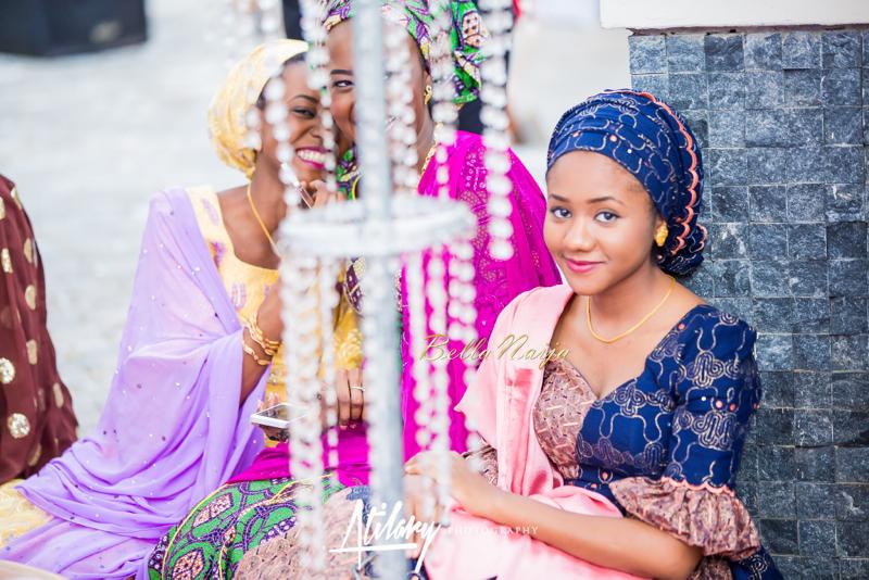 Farida Salisu Yusha'u & Abubakar Sani Aminu | Budan Kai - Hausa Muslim Nigerian Wedding | Atilary Photography | BellaNaija - October 2014 013.862C8655
