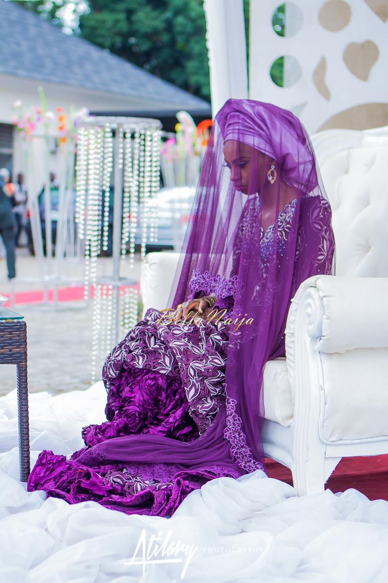 Farida Salisu Yusha'u & Abubakar Sani Aminu | Budan Kai - Hausa Muslim Nigerian Wedding | Atilary Photography | BellaNaija - October 2014 013.IMG_8432