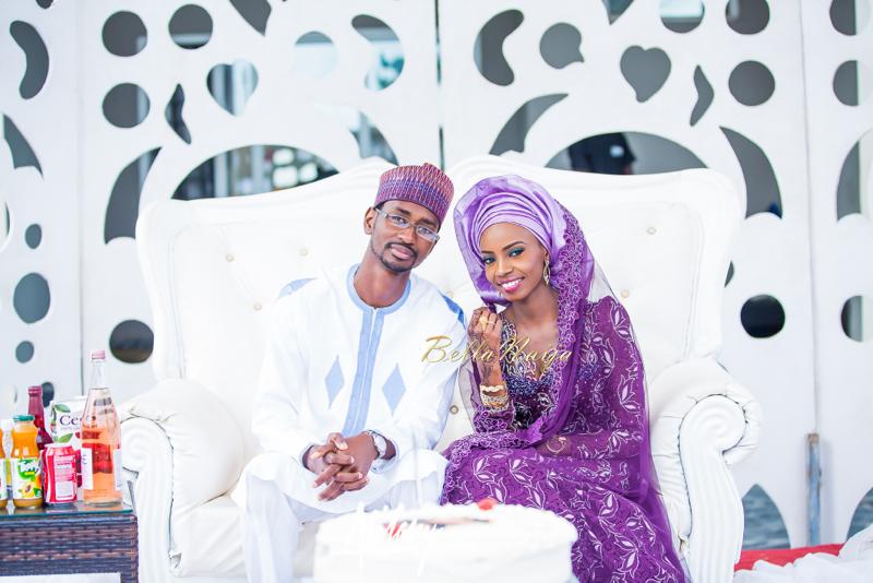 Farida Salisu Yusha'u & Abubakar Sani Aminu | Budan Kai - Hausa Muslim Nigerian Wedding | Atilary Photography | BellaNaija - October 2014 017.862C8667