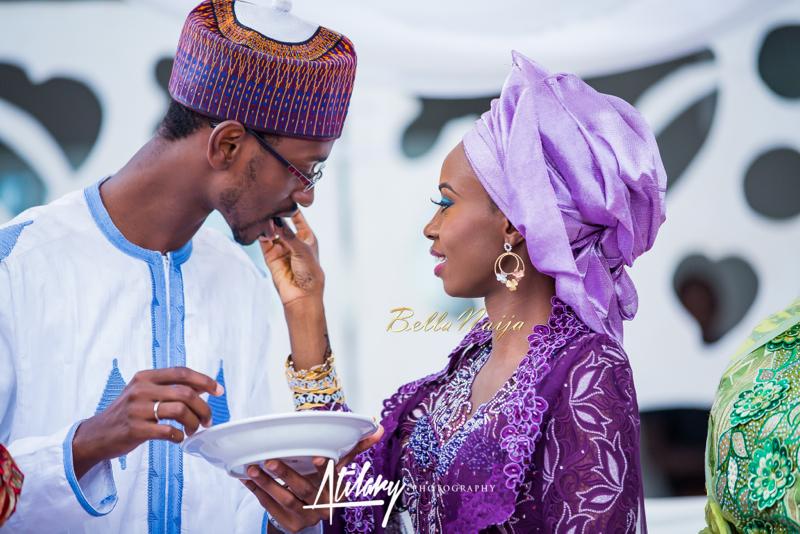 Farida Salisu Yusha'u & Abubakar Sani Aminu | Budan Kai - Hausa Muslim Nigerian Wedding | Atilary Photography | BellaNaija - October 2014 019.862C8685