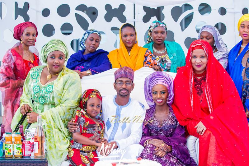 Farida Salisu Yusha'u & Abubakar Sani Aminu | Budan Kai - Hausa Muslim Nigerian Wedding | Atilary Photography | BellaNaija - October 2014 02.862C8735