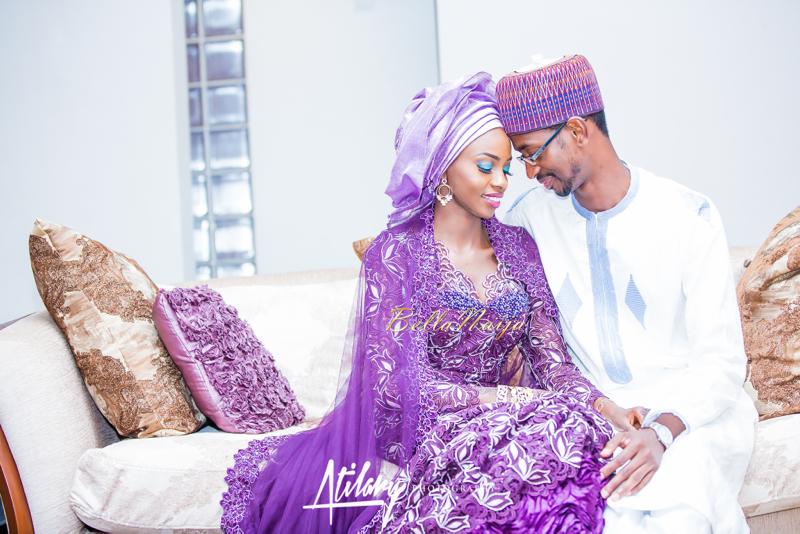 Farida Salisu Yusha'u & Abubakar Sani Aminu | Budan Kai - Hausa Muslim Nigerian Wedding | Atilary Photography | BellaNaija - October 2014 024.862C8750