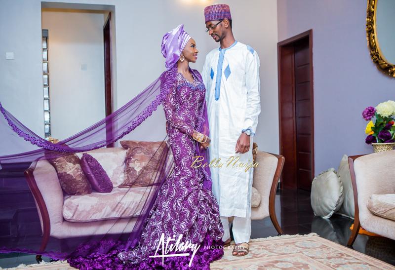 Farida Salisu Yusha'u & Abubakar Sani Aminu | Budan Kai - Hausa Muslim Nigerian Wedding | Atilary Photography | BellaNaija - October 2014 026.862C8756