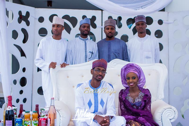 Farida Salisu Yusha'u & Abubakar Sani Aminu | Budan Kai - Hausa Muslim Nigerian Wedding | Atilary Photography | BellaNaija - October 2014 03.IMG_8593